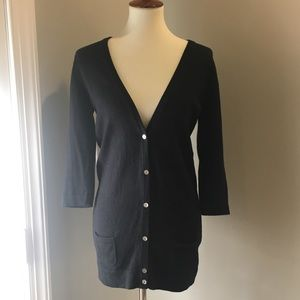 Lacoste Button Up Cardigan Sweater